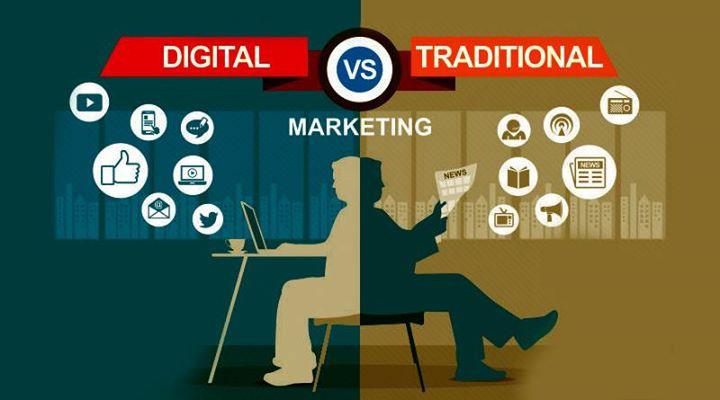 Quién es mejor? El mercadeo tradicional o el mercadeo digital | JUPA  Publicidad